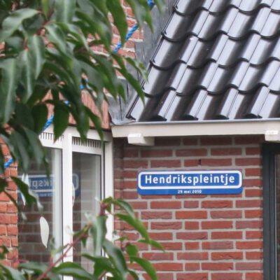 Hendrikspleintje - Zeeweg