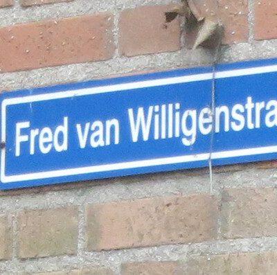 Fred van Willigenstraat - Vredenoord