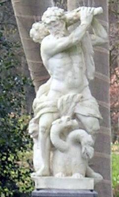 Hercules vechtend met Achelo�¼s, Nijenburg, Gaspar Swenst